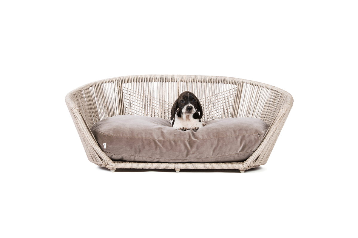 Laboni Design Hundebett Vogue Taupe
