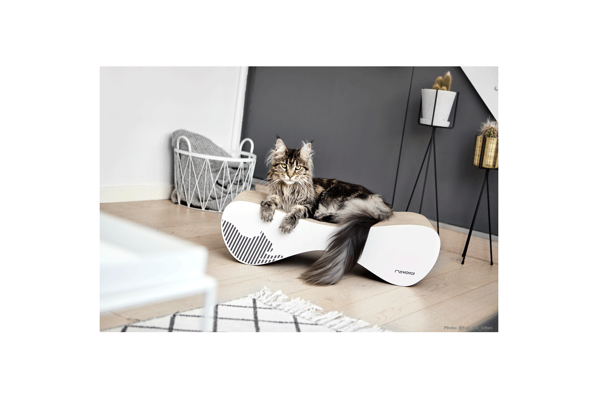 MyKotty Vigo Scratching Furniture White