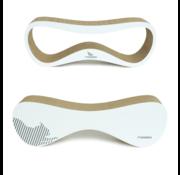 MyKotty MyKotty Kratzmöbel-Set Lazy White + Vigo White