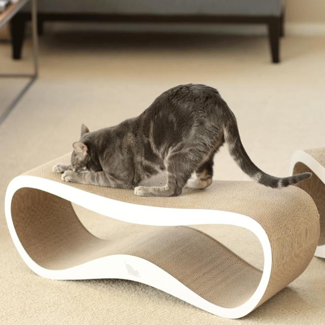 MyKotty Scratching Furniture Set Lui White + Vigo White