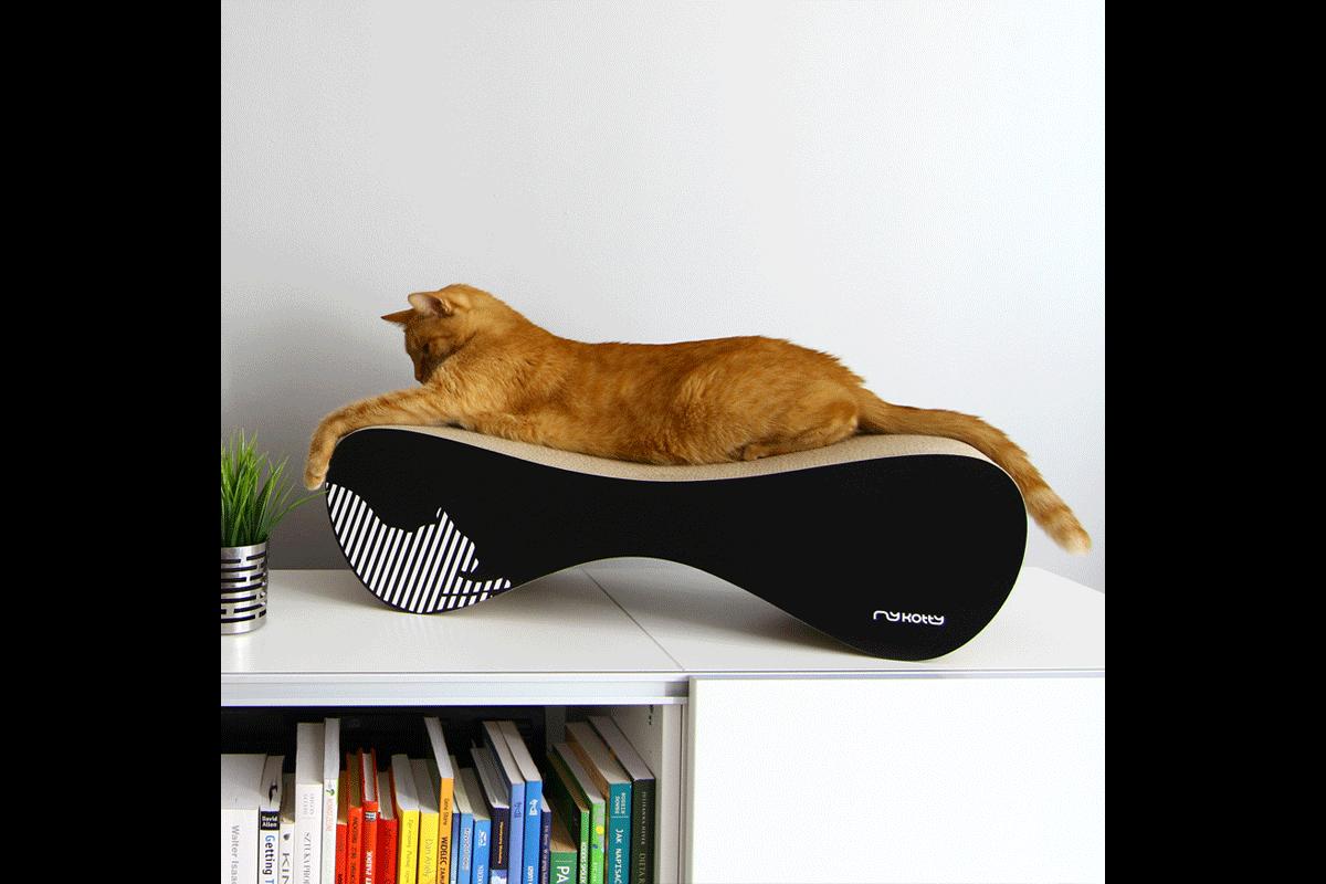 MyKotty Scratching Furniture Set Vigo + Tobi Black