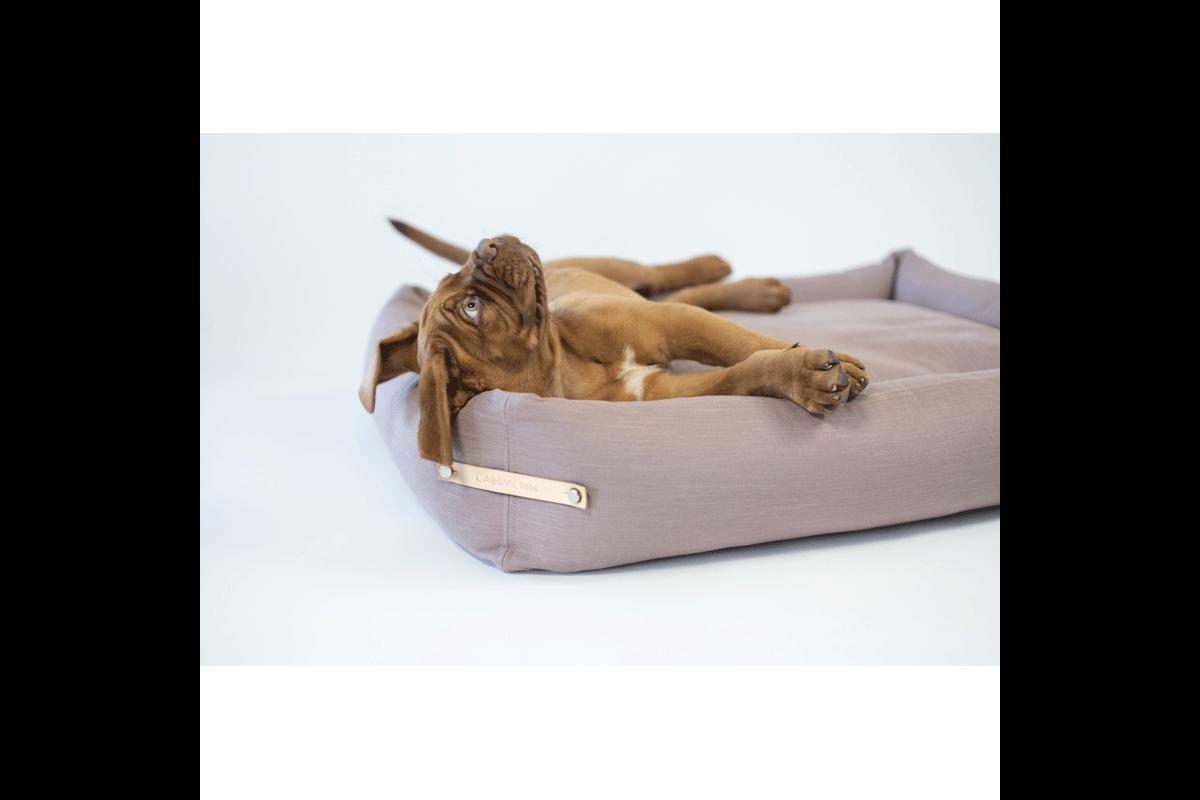 Labbvenn Stokke Hundebett Rosa