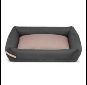 Labbvenn Labbvenn Stokke dog bed gray / pink