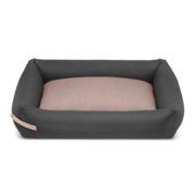 Labbvenn Labbvenn Stokke Dog Bed Grey/Pink