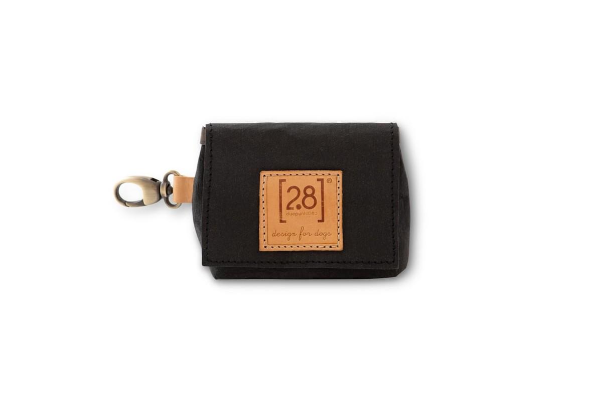 2.8 design for dogs Oliviero Bag For Dog Poop Bags Black