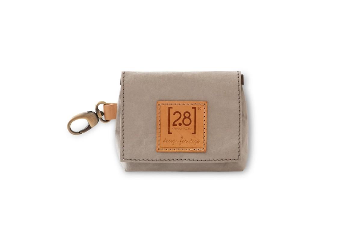 2.8 design for dogs Oliviero Bag For Dog Poop Bags Grey