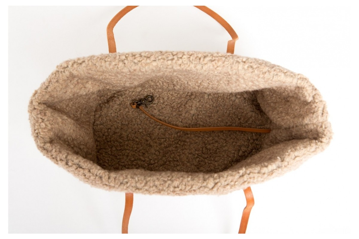 2.8 Design für Hunde Innenfutter für Annie Hundetasche Wolle