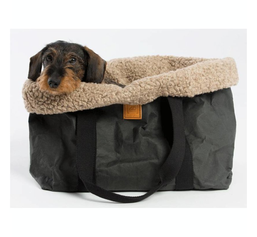 2.8 design for dogs Dorothea Pet Carrier Silver Wool