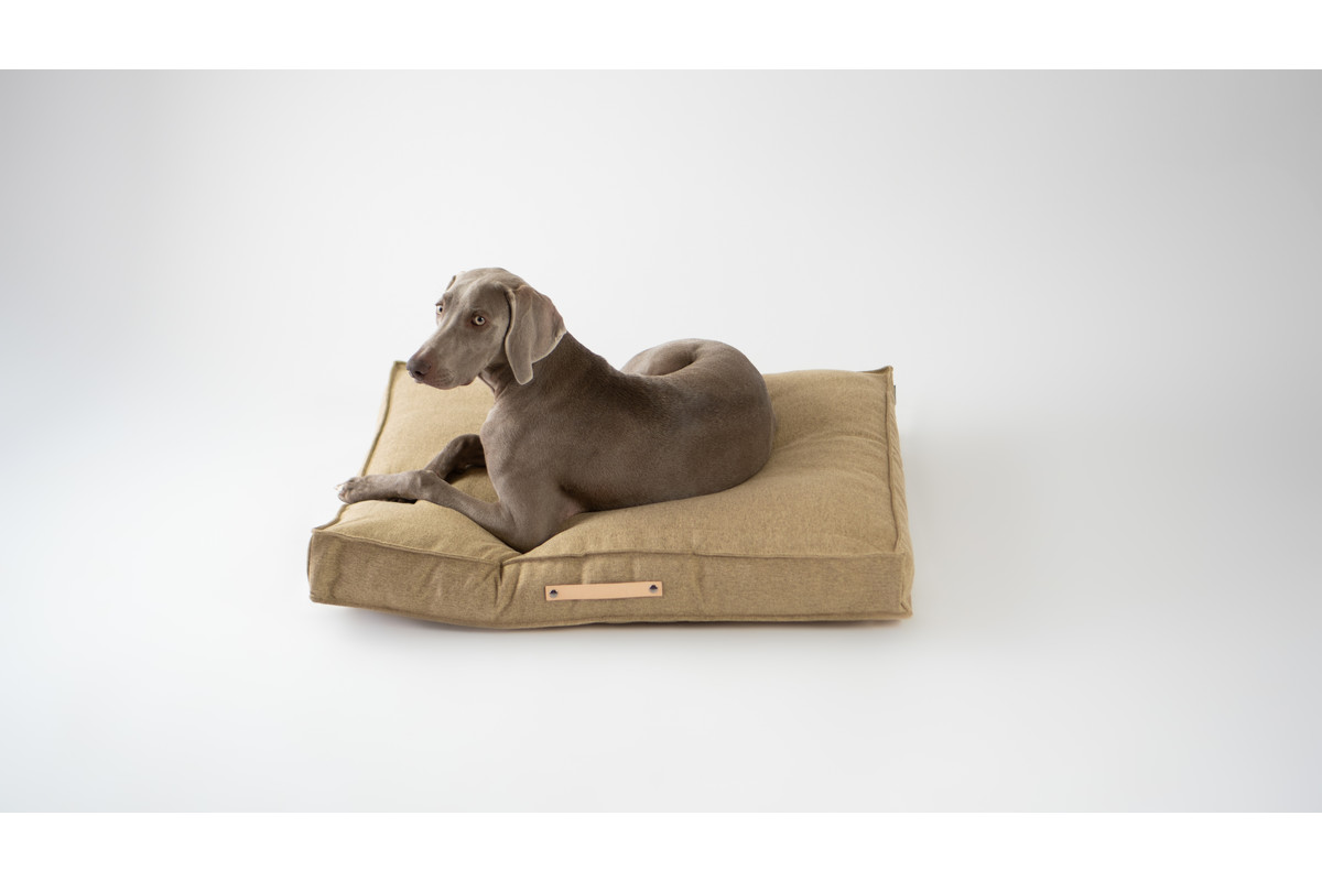 Labbvenn Movik Dog Cushion Biscuit