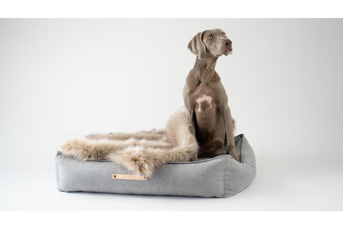 Labbvenn Movik hondenkussen grijs