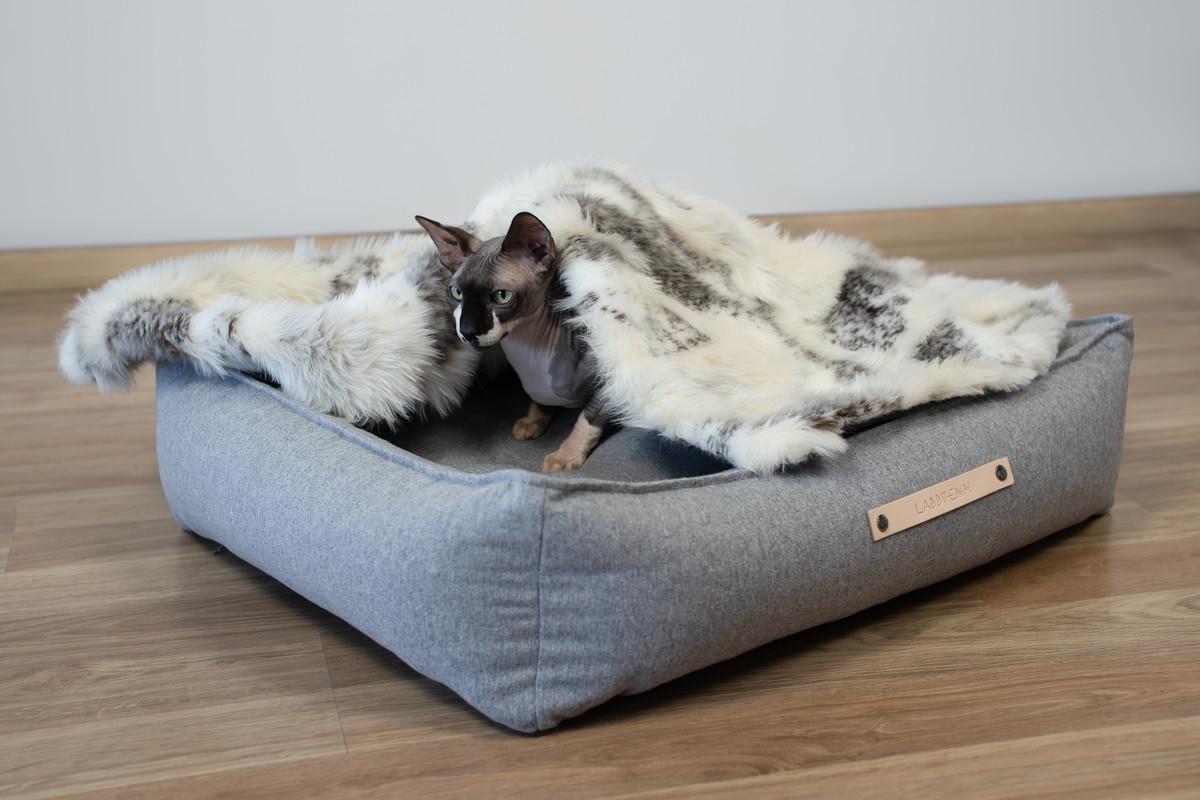 Labbvenn Movik Hundebett grau