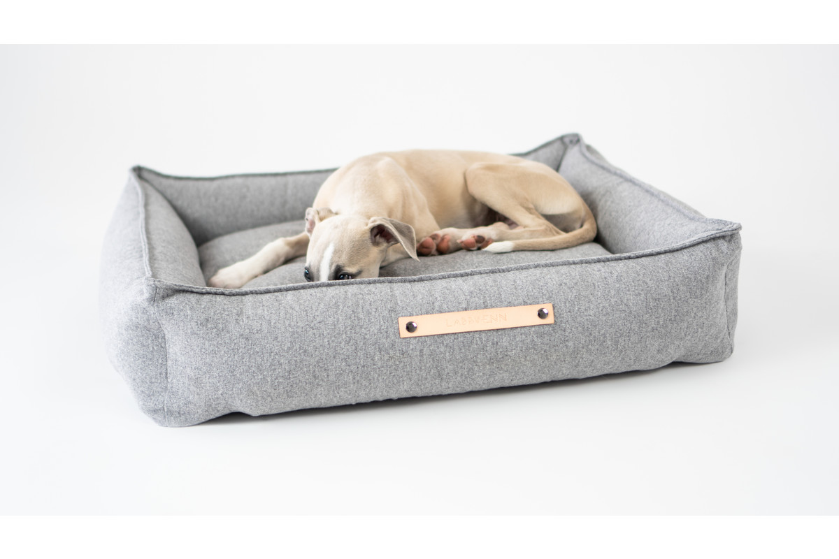 Labbvenn Movik Dog Bed Grey