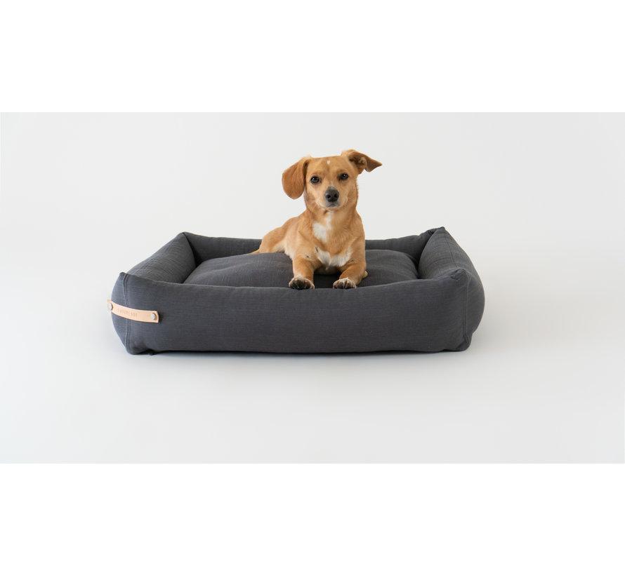 Labbvenn Stokke Dog Bed Grey