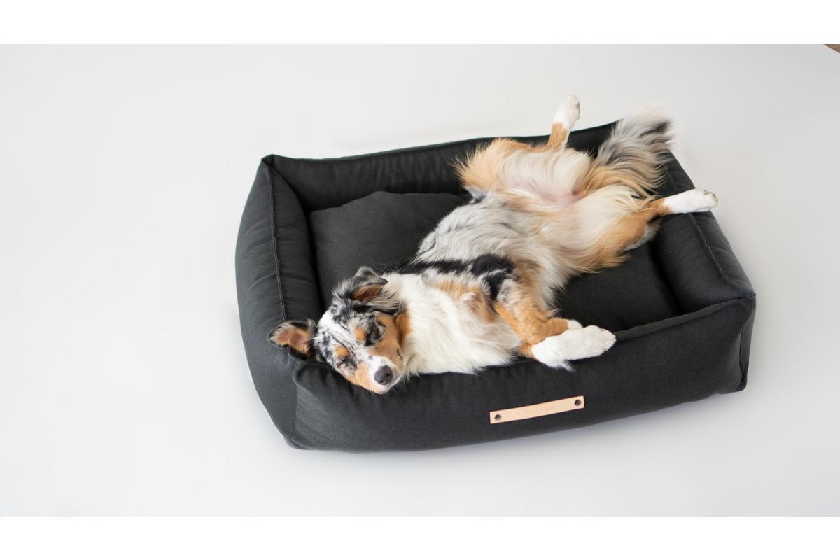 Labbvenn Töve Dog Bed Anthracite