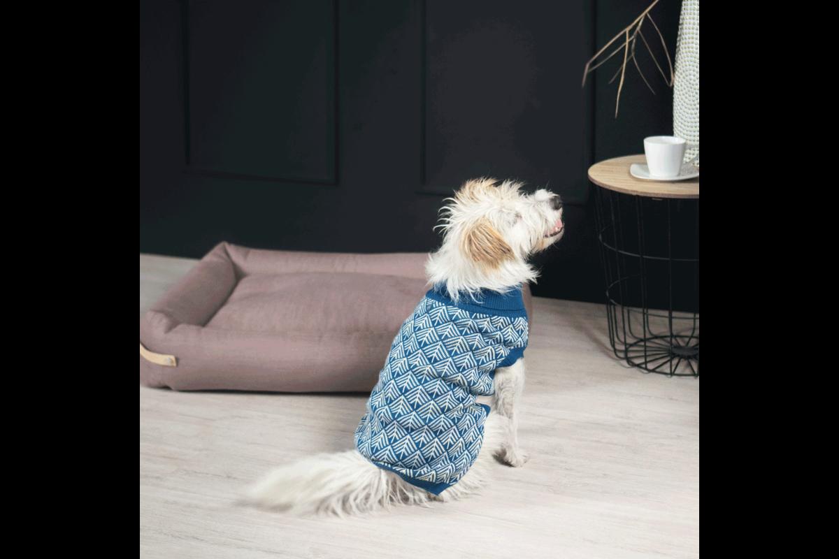 Labbvenn Pullo Hundepullover blau