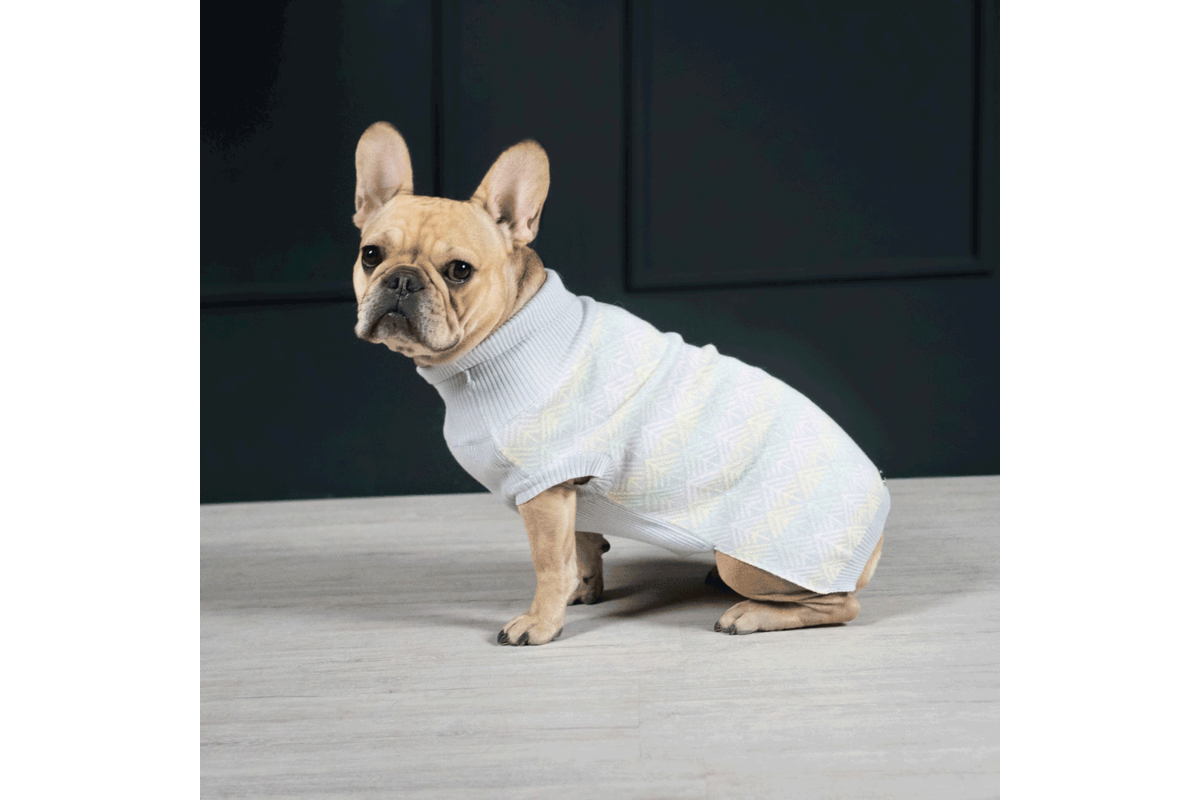 Labbvenn Pullo dogsweater grey