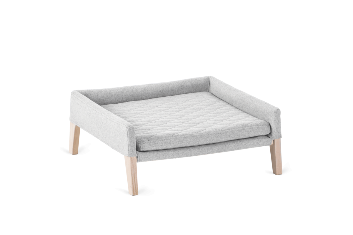 Labbvenn Lulu cat bed light grey