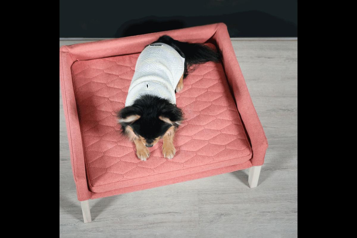 Labbvenn Lulu cat bed pink