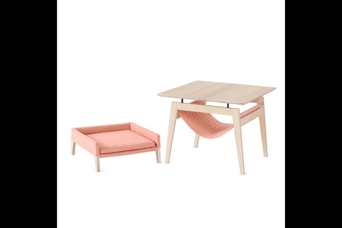 Labbvenn set Kikko & Lulu pink