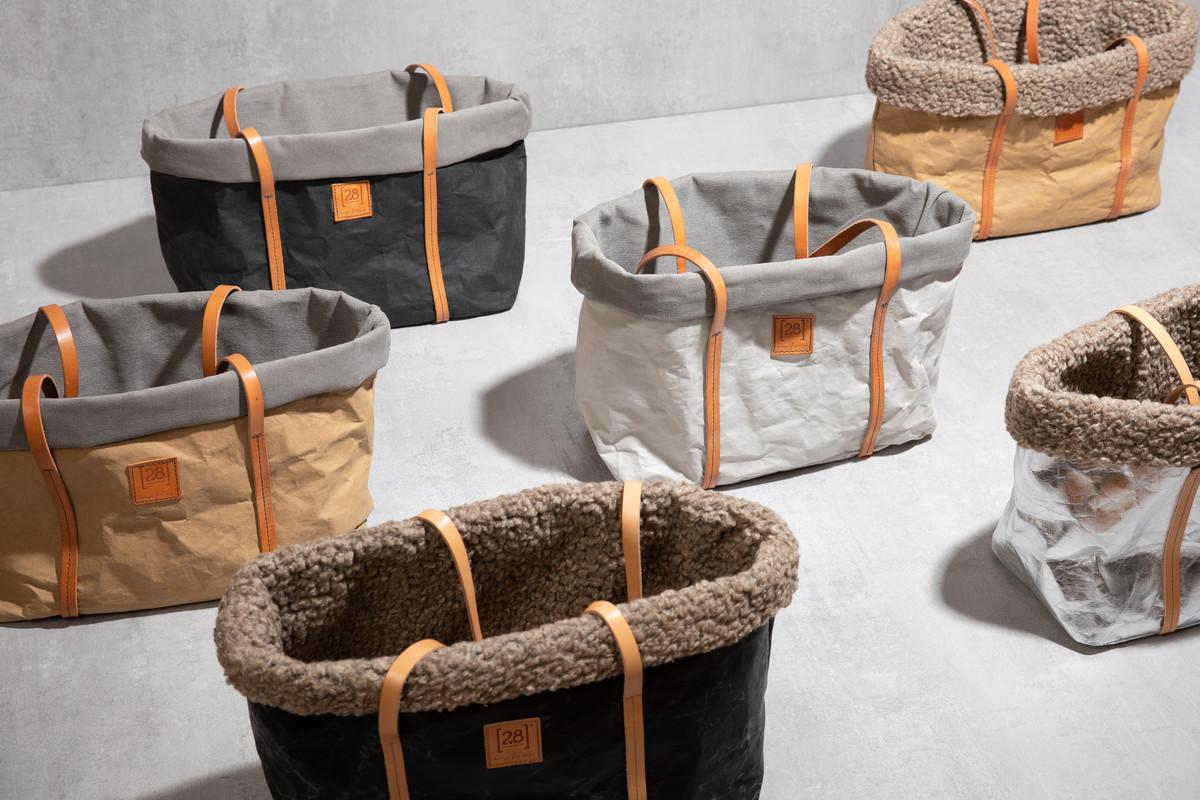 2.8 Design für Hunde Annie Hundetasche Gewachste Wolle Schwarz