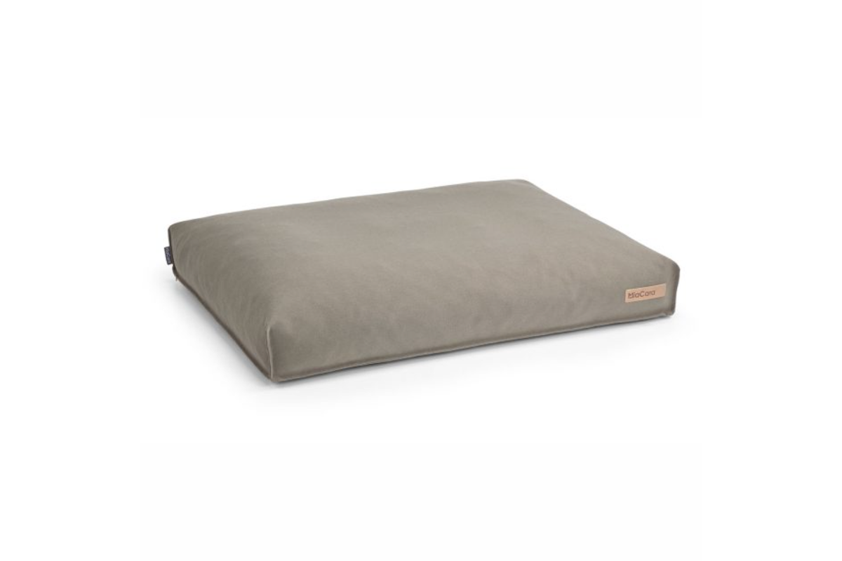 MiaCara Stella dog cushion cover taupe