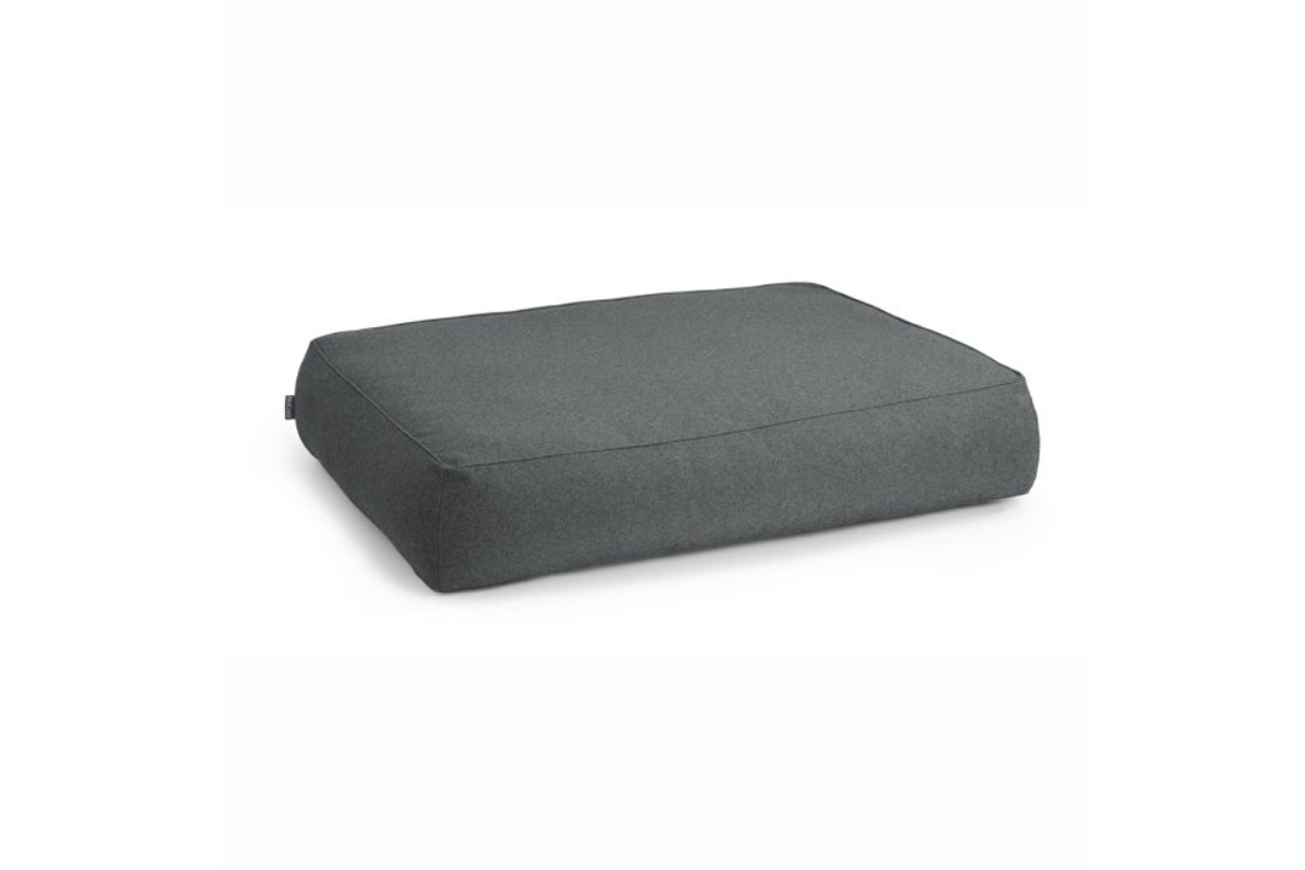 MiaCara Stella lounge cushion cover anthracite