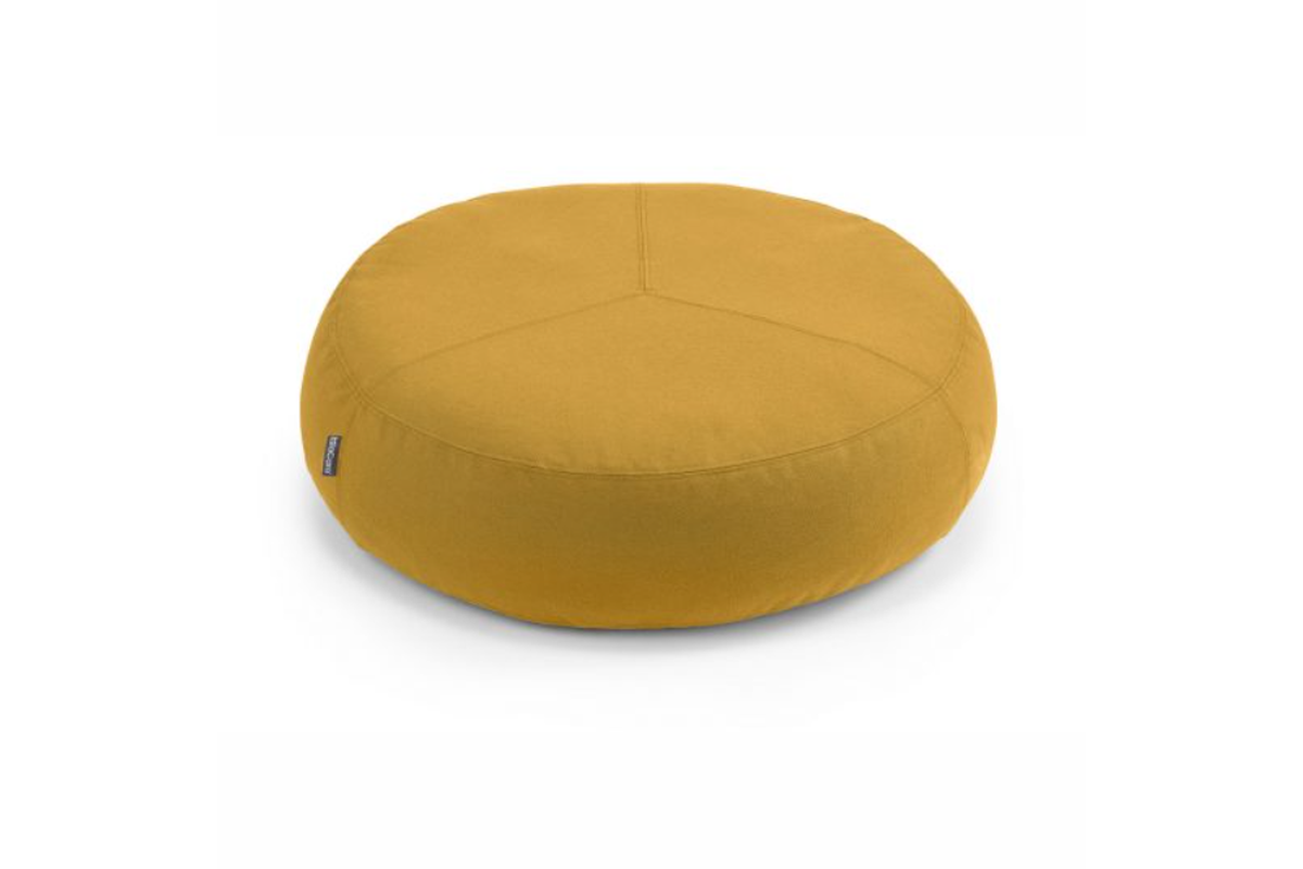 MiaCara Stella dog cushion  pouf saffron