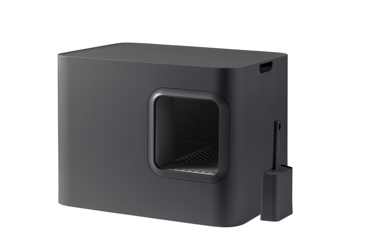 Hoopo® Dome Cat Litter Box Grey