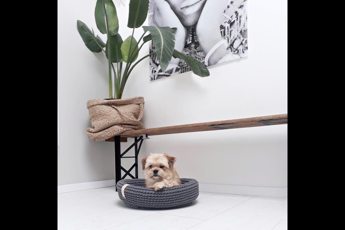Labbvenn Coco Hundebett  grün