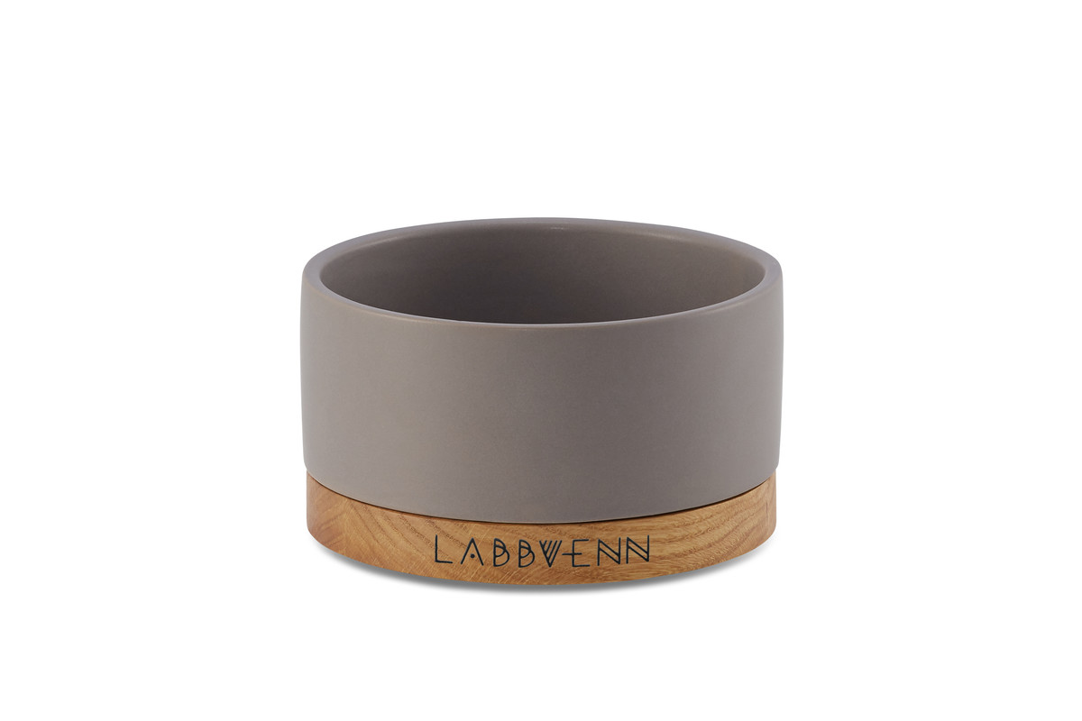Labbvenn Vuku Ceramic Voerbakset Cacao Single