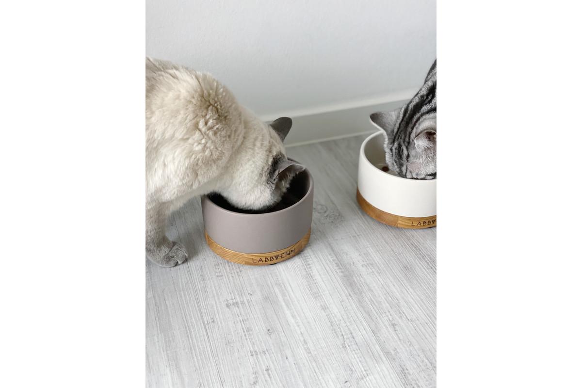 Labbvenn Vuku Ceramic Feeding bowl Cocoa