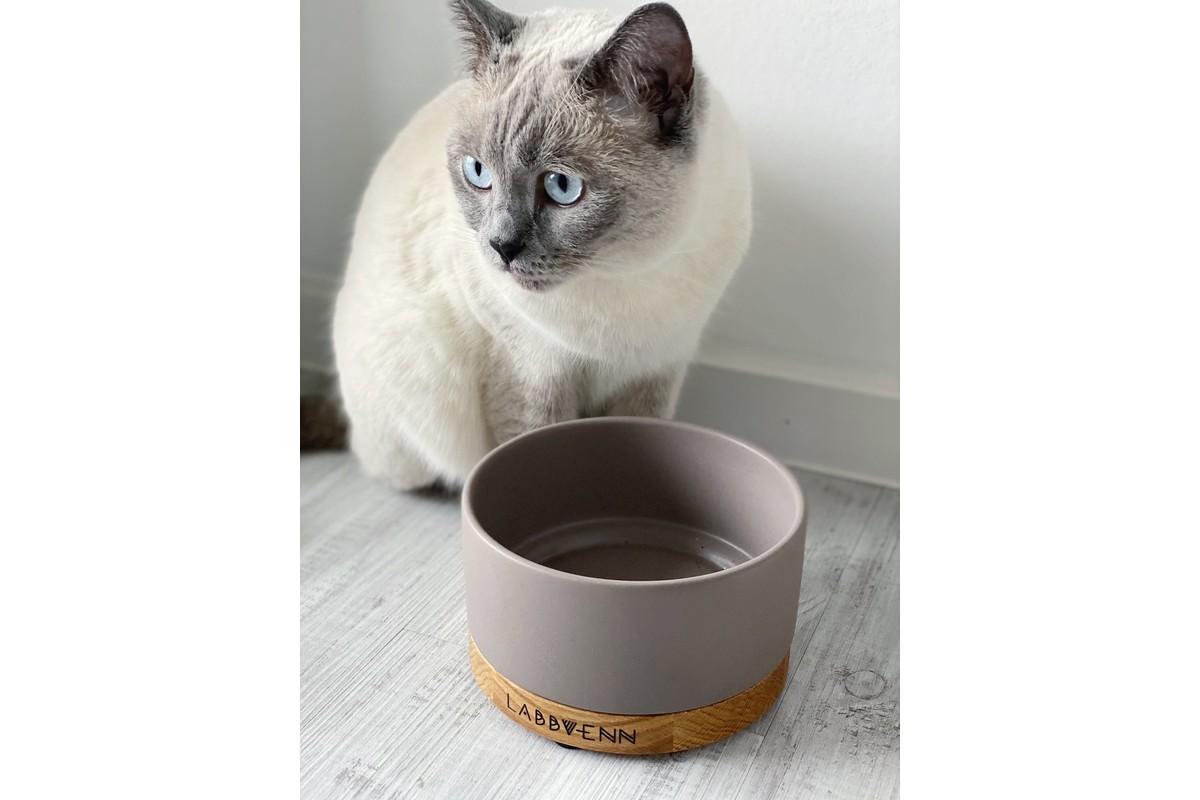 Labbvenn Vuku Ceramic Feeding bowl Black