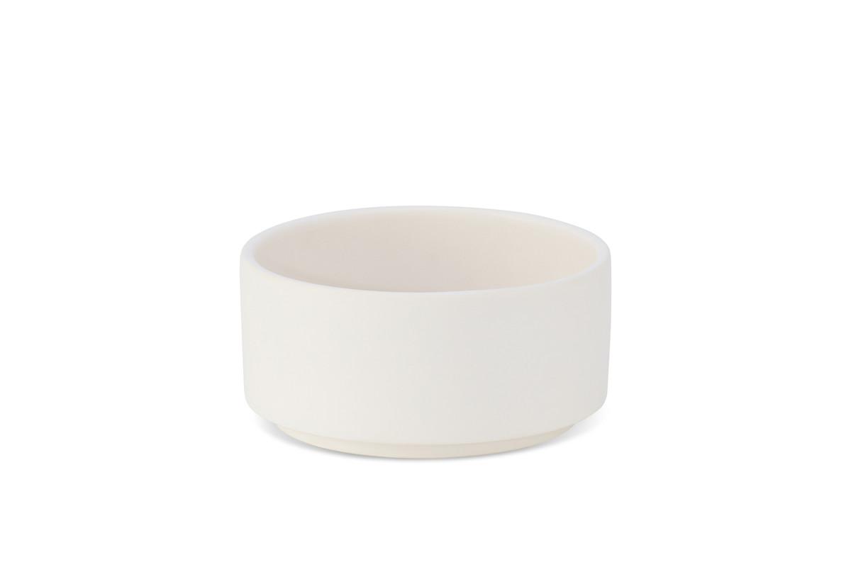 Labbvenn Vuku Ceramic Feeding bowl White