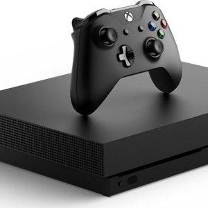 Microsoft XboX One X 1TB Zwart