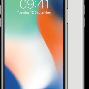 Apple iPhone X Zilver