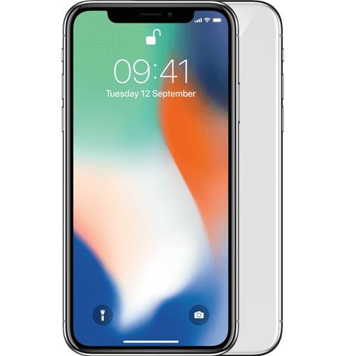 Apple iPhone X Zilver