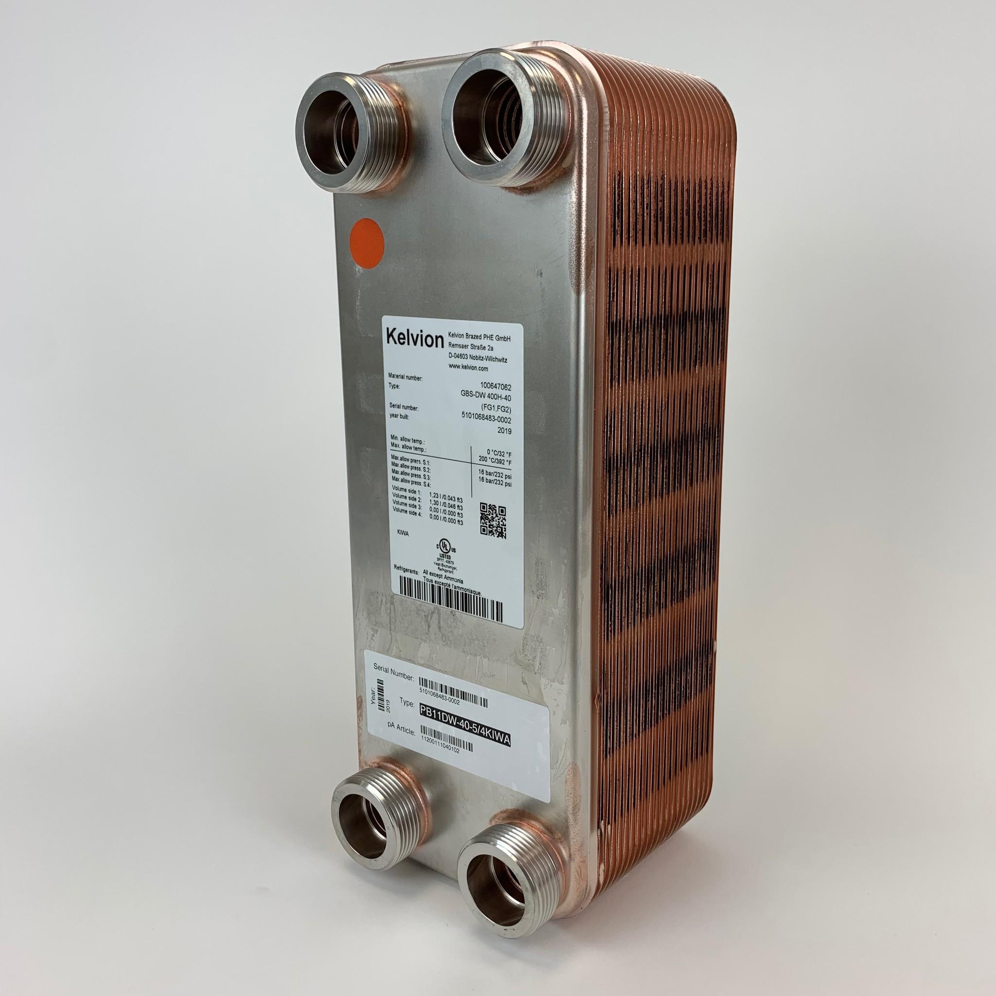 Kelvion GBS-DW 400H-10 (F1, F2)