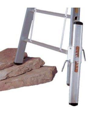 Dirks Dirks aluminium verlengpoot 69 mm tbv alu ladder