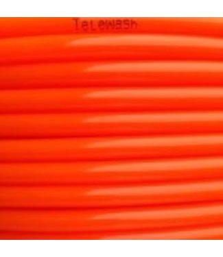 Telewash steelslang ORANJE soft