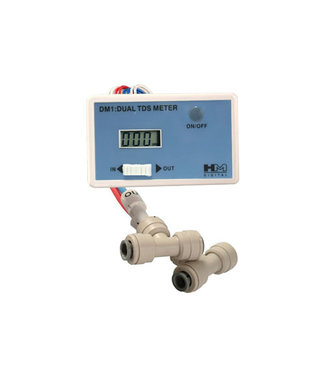 Pure Freedom Inline TDS meter cmpl. with fittings