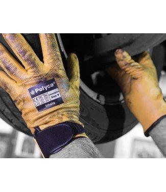 Handschoen Imola geel maat 10/XL