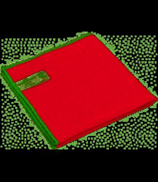 Greenspeed Greenspeed microvezeldoek rood per pak 10 stuks
