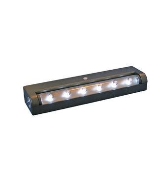 E-LED 6-led balkje NMI (op batterijen)