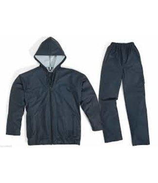 Regenpak 850 marineblauw maat M