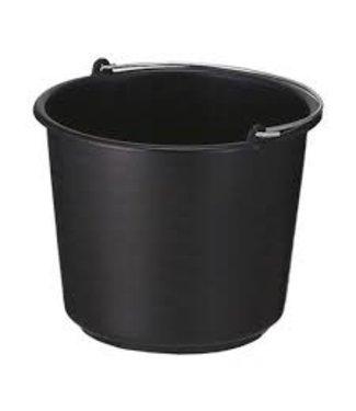 Emmer 12 L Zwart (lichtgewicht)