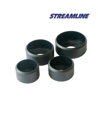 Streamline rubberen dop 34mm