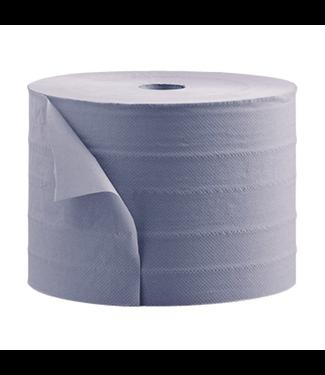 Industrierol v blauw 36 cm ( 2 x 380m)