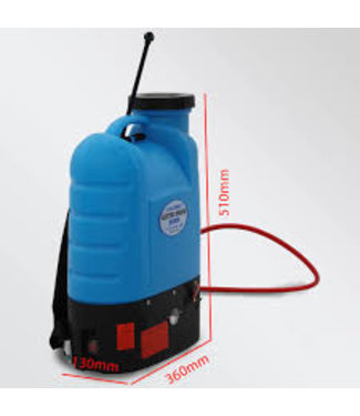Sprayer Compressie rug sprayer 16 liter (Incl. koppelingen)