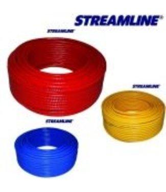 Lite 5 werk / steel slang per 1 meter Blauw