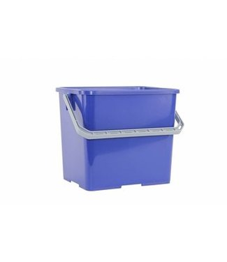 Emmer voor werkwagens 6L blauw